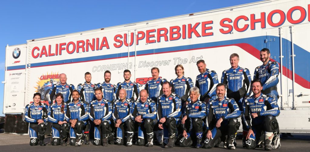 Instructor Coaches from California Superbike School